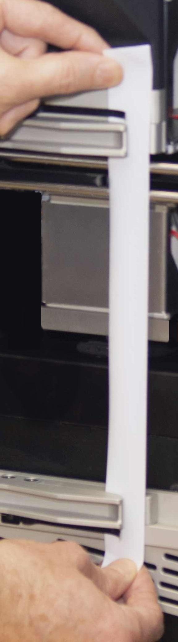 Heat seal sample loading